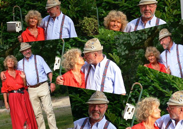Renate und Hannes-Collage